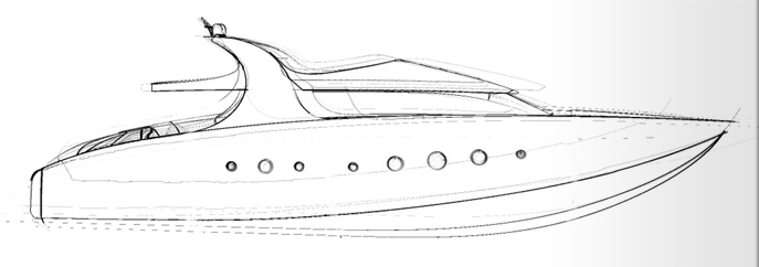 yacht exterior styling